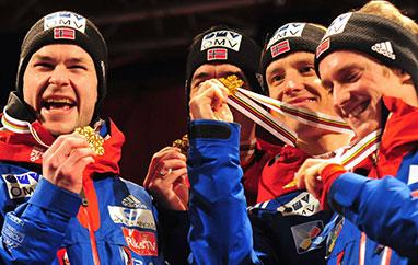 PŚ Lahti: Triumf Norwegów, Polacy naczwartym miejscu