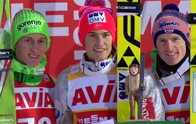 PŚ Klingenthal: Pierwsze zwycięstwo Tande, Stoch trzynasty