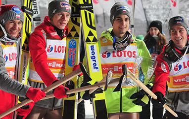 MŚ Lahti: 12 ekip wdrużynówce