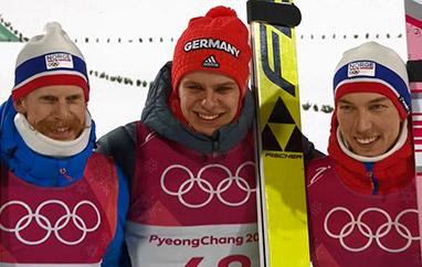 ZIO Pjongczang: Wellinger mistrzem olimpijskim, Polacy bez medali