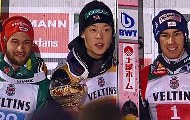 TCS Oberstdorf: Minimalne zwycięstwo Kobayashiego, trzech Polaków wósemce