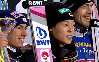 TCS Innsbruck: Kobayashi ztrzecim zwycięstwem, Stoch piąty, Kubacki traci