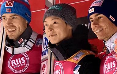 PŚ Trondheim: Zwycięstwo Kobayashiego, Stjernen kończy karierę napodium
