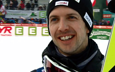CoC: Simon Ammann triumfuje wLillehammer