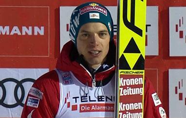 Aschenwald zpierwszym podium: Szkoda, że podyskwalifikacjach, ale zasłużyłem