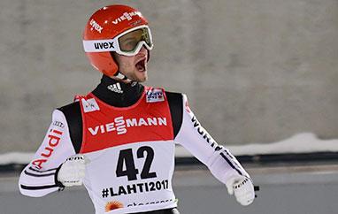 PŚ Trondheim: Eisenbichler najlepszy natreningu, Stoch ósmy