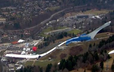 Nowa skocznia wGarmisch-Partenkirchen