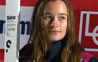 PŚ Lillehammer: Jakowlewa triumfuje, Lundby nową liderką