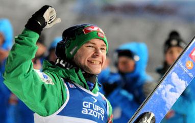Jacobsen mistrzem Norwegii nadużej skoczni