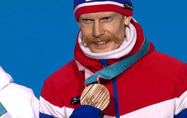 Johansson mistrzem Norwegii, Forfang i Lindvik z medalami