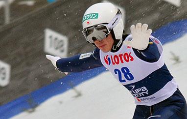 TCS Oberstdorf: Kobayashi najlepszy wI serii treningowej