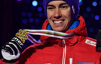 MŚ Oberstdorf: Stefan Kraft poraz trzeci mistrzem świata, Żyła tuż za podium