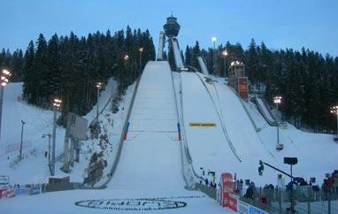 Skocznia w Kuopio i dzisiejszy trening