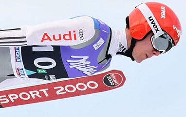 TCS Innsbruck: Drugi trening dla Leyhe. Stoch piąty, Kobayashi nie skakał