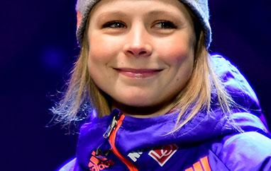 PŚ Lillehammer: Maren Lundby z żółtym plastronem