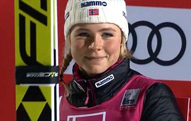PŚ kobiet: Maren Lundby wygrywa prolog