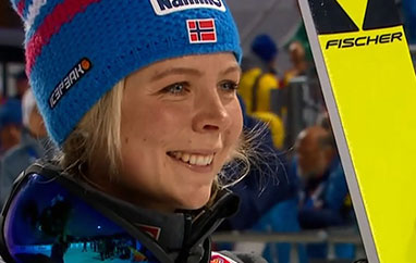 PŚ Lillehammer: Zwycięstwo Lundby, obie Polki zpunktami