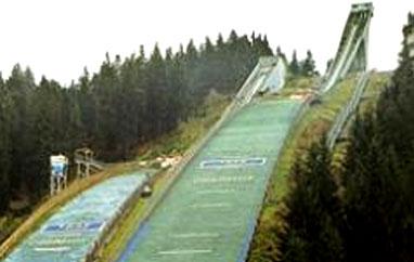 Oberhof, Rennsteig-Schanze (Niemcy)