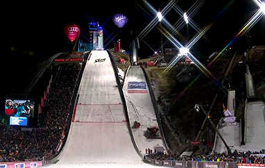 Pary konkursu w Oberstdorfie: Polacy powalczą z Austriakami, Francuzami i Włochem
