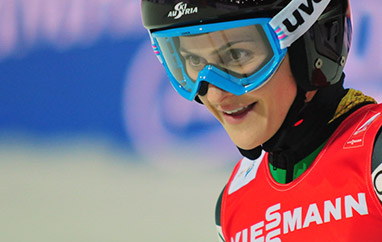 FIS Cup: Pinkelnig, Moharitsch i Hirnen najlepsze na treningach, dobre skoki Twardosz