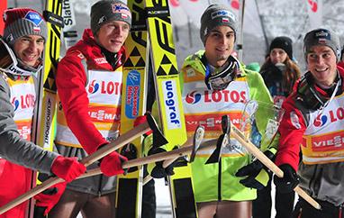 MŚ Lahti: Historyczne zwycięstwo Polaków wkonkursie drużynowym!