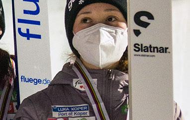 FIS Cup Villach: Nika Prevc wygrywa serię próbną