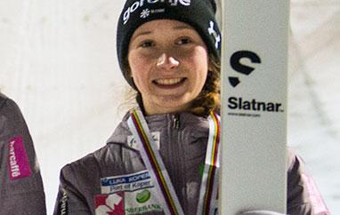 FIS Cup Villach: Nika Prevc najlepsza natreningu