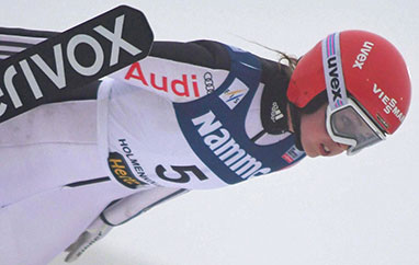 PŚ Lillehammer: Seyfarth najlepsza wI serii treningowej nadużej skoczni