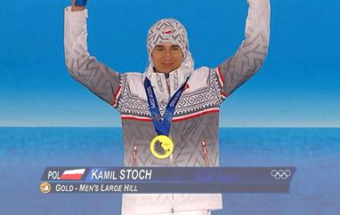 Drugi złoty medal już wrękach Stocha