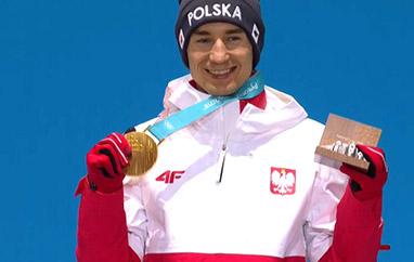 Stoch poraz drugi zWielką Honorową Nagrodą Sportową PKOl