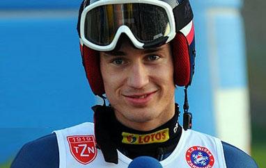 Kamil Stoch najlepszy wWiśle