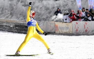 PŚ Oslo: Stoch wygrywa drugi trening