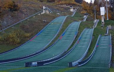 Tschagguns, Montafoner Schanzenzentrum (Austria)