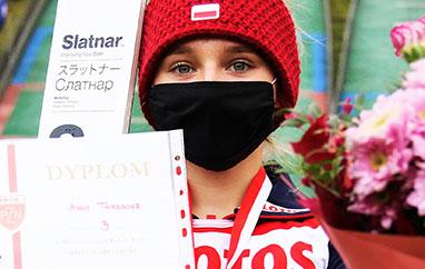 FIS Cup Szczyrk: Znakomite skoki Polek wserii próbnej