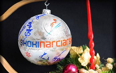 WOŚP 2012: Licytacja bombki zautografami skoczków zakończona!