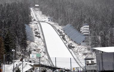 Śnieg wreszcie zawitał do Zakopanego