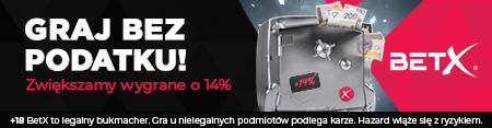 BetX - nowy sponsor strony Skokinarciarskie.pl - oferujemy najwyższy bonus na rynku