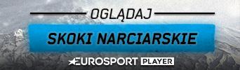 Oglądaj skoki narciarskie w Eurosport Player - wszystkie kwalifikacje i konkursy LIVE