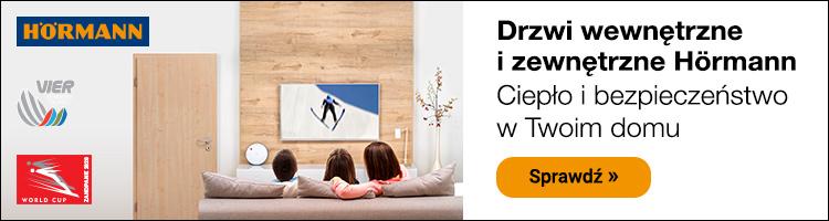 Drzwi wewnętrzne i zewnętrzne Hörmann - ciepło i bezpieczeństwo w Twoim domu