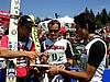 Martin Hoellwarth (Austria), Reinhard Schwarzenberger (Austria) i Kazuyoshi Funaki (Japonia) - ten ostatni zbierał autografy ;)