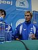 Sven Hannawald (Niemcy) spóżniony na konferencję prasową